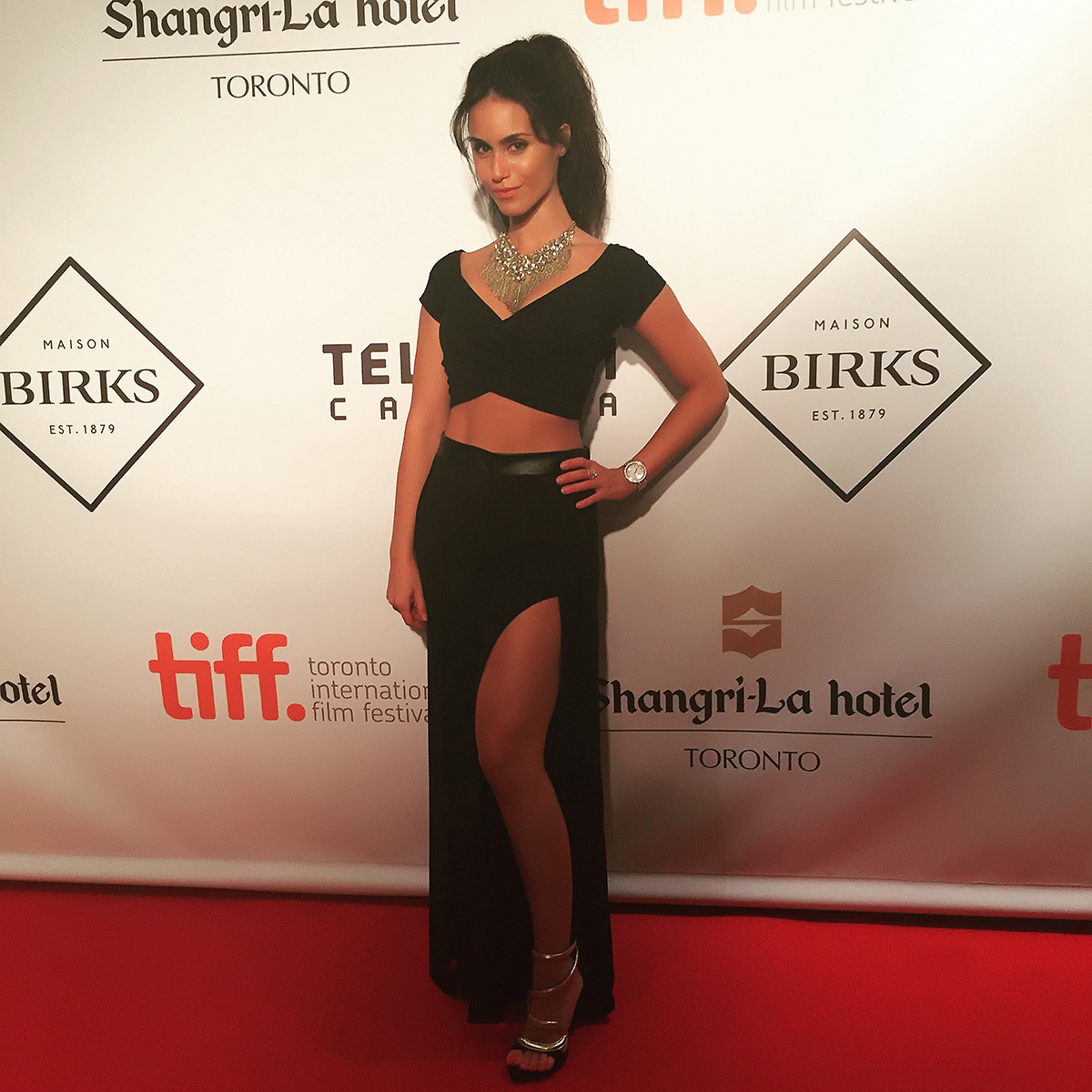 PERSIAN SECRETS, Shiva Negar, Toronto International Film Festival 2015 Women in Film Gala