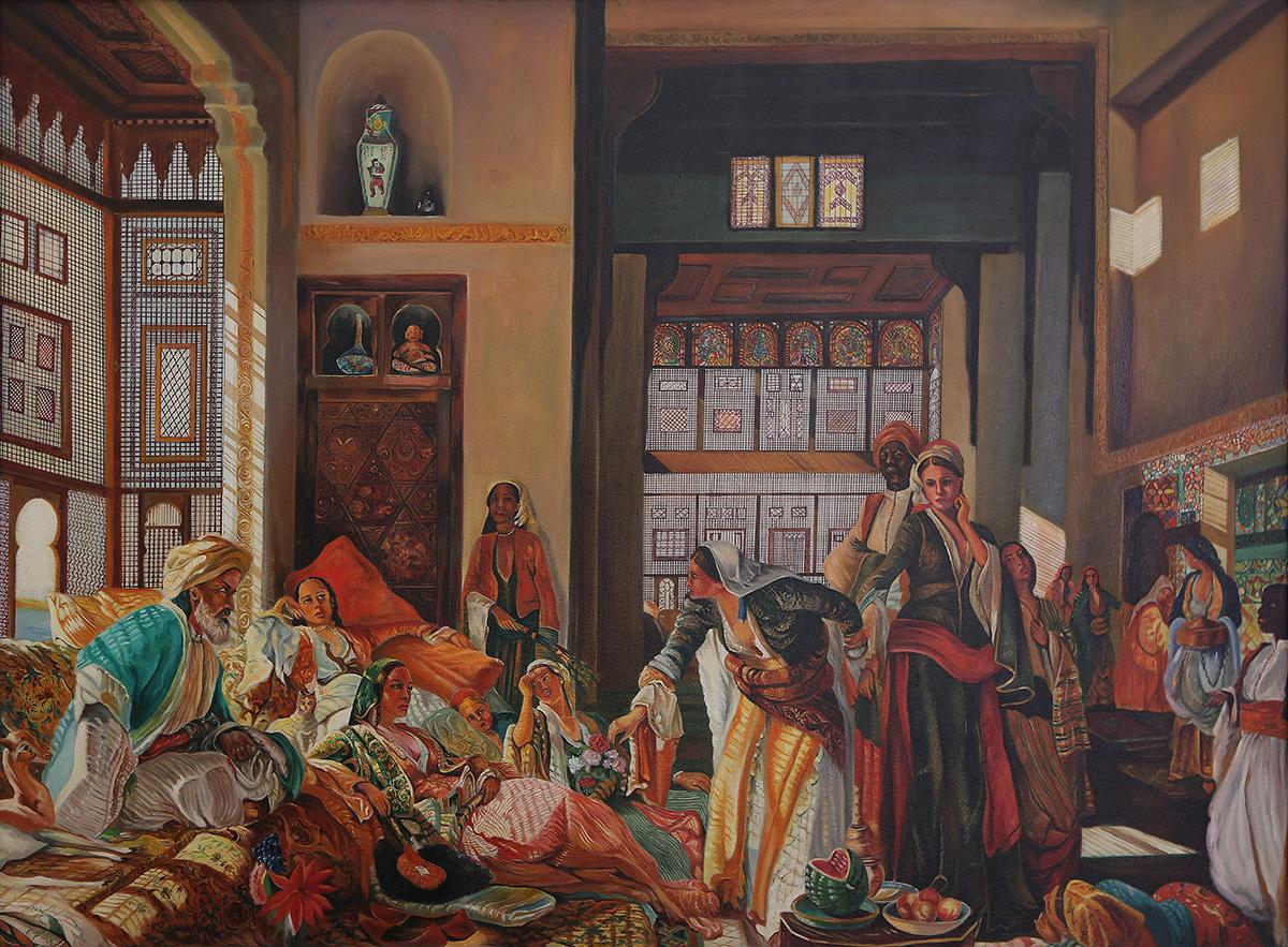 PERSIAN SECRETS, Khosrow Azarpour, AZ Fine Art Gallery
