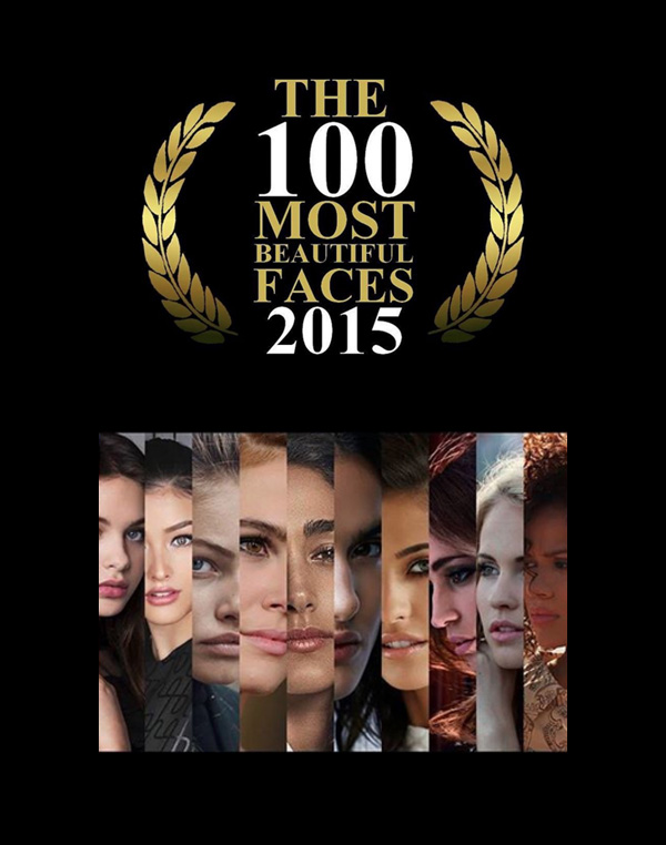 PERSIAN SECRETS, TC Candler, The 100 Most Beautiful Faces of 2015